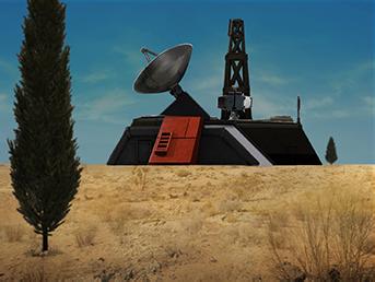 nod radarzentrale Radarzentrale