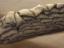 Sandsackbarriere