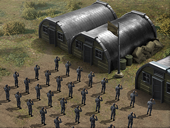 sowjet kaserne Kaserne
