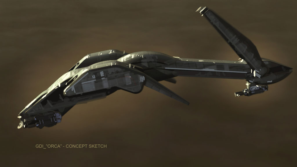 Orca Concept GDI Kulteinheiten