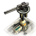 tw artilleryemplacement Artillerie Geschützstellung